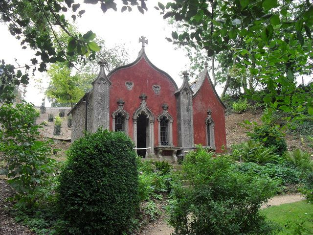 red house painswick occult