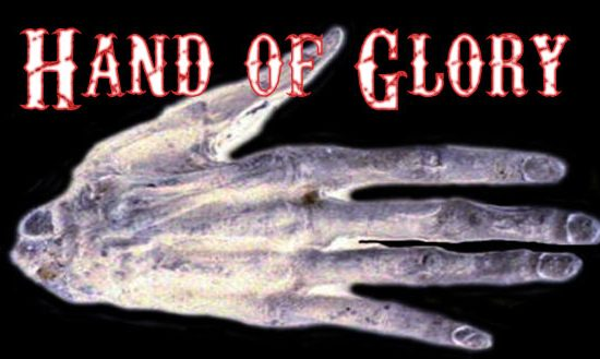 hand of glory witchcraft folklore