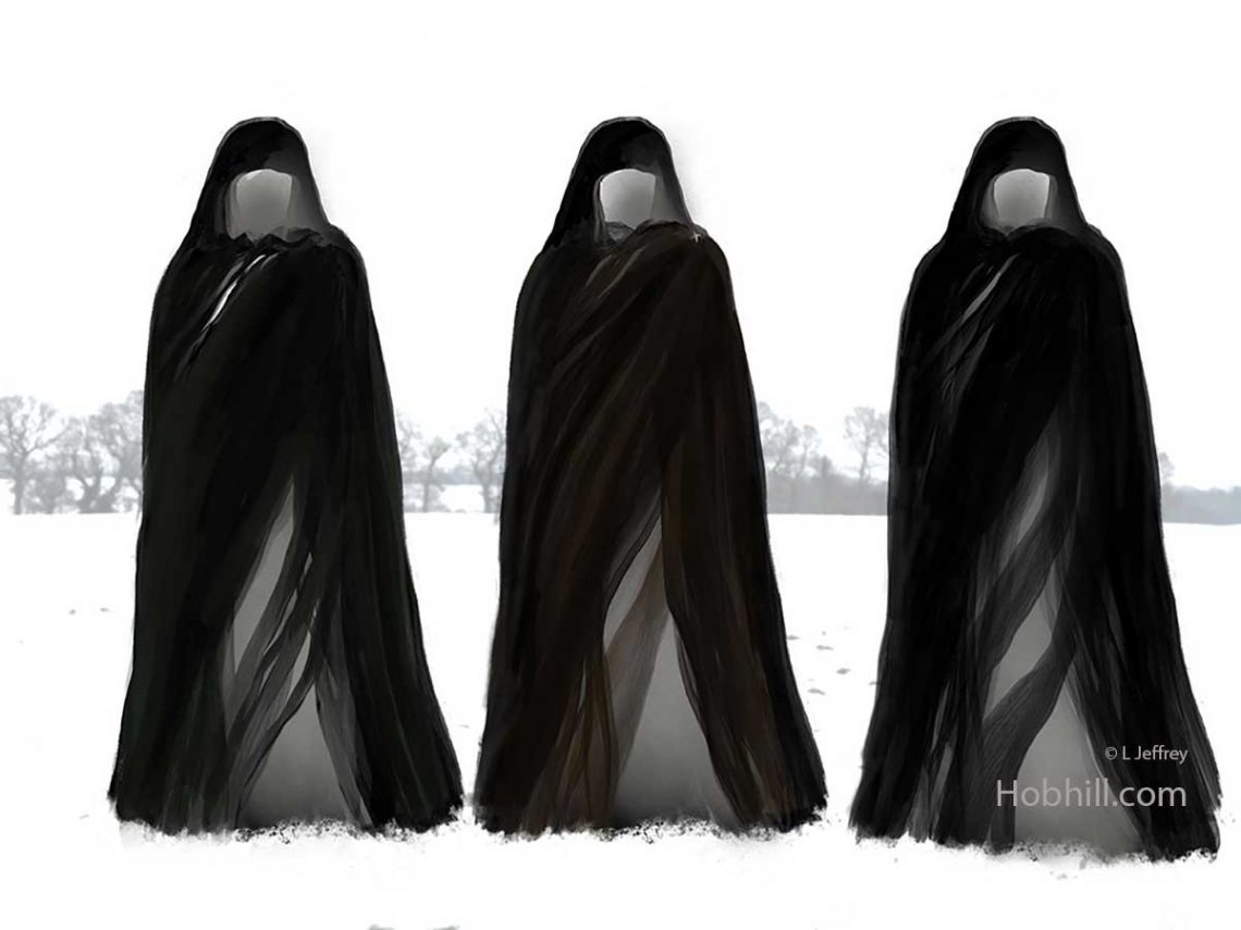 the hooded ones