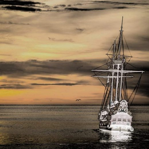 lady luvibond ghost ship of kent